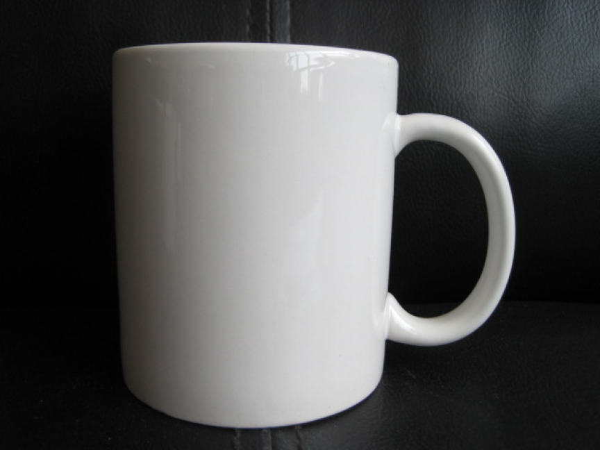 Coffee Mugs Down White Mug Bulk