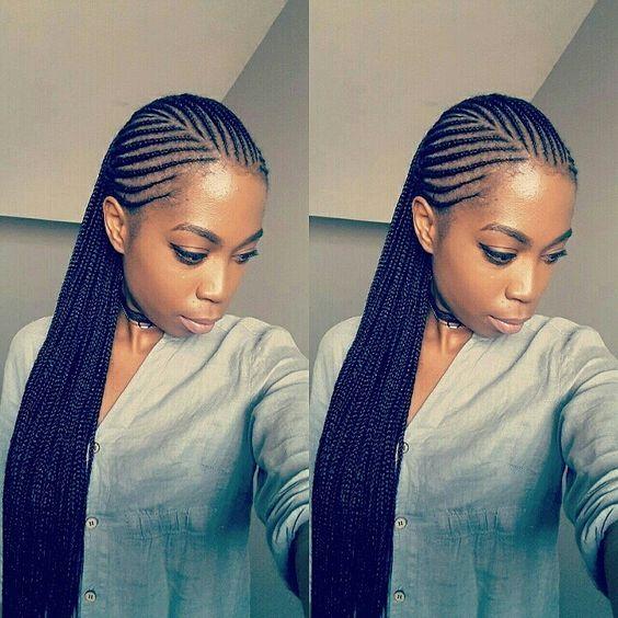 Ghana Braids Hairstyles Trending Ghana Weaving 2017 4  Braid Styles  Pinterest  Ghana