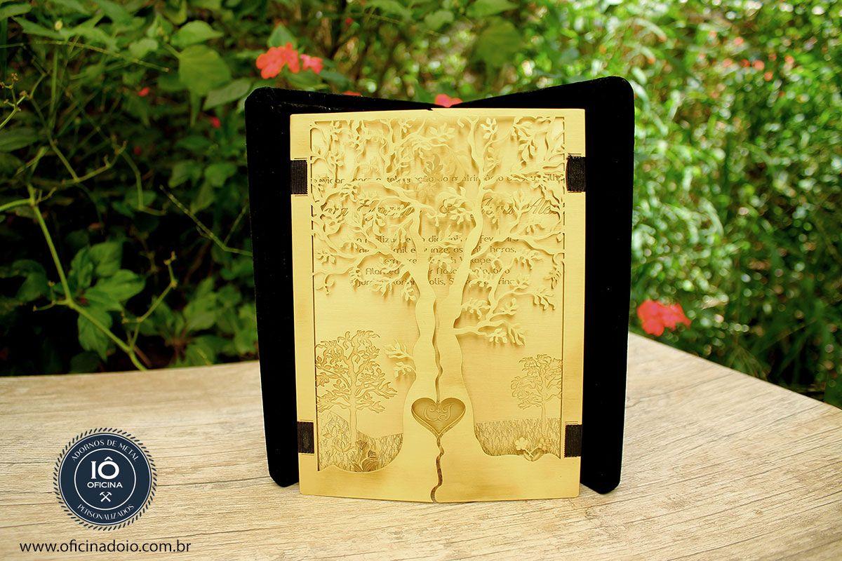 Convite de casamento criativo.  Contato - oficinadoio@gmail.com   www.oficinadoio.com.br