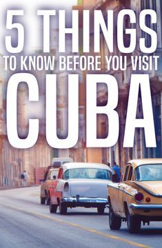 ViaHero | 5 Things to Know Before You Visit Cuba