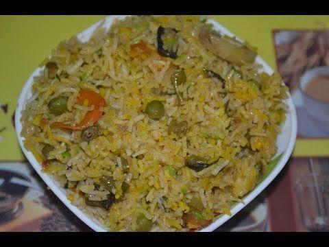 Indian muslim style vegetable biryani prepared restaurant street indian muslim style vegetable biryani prepared restaurant street food forumfinder Gallery