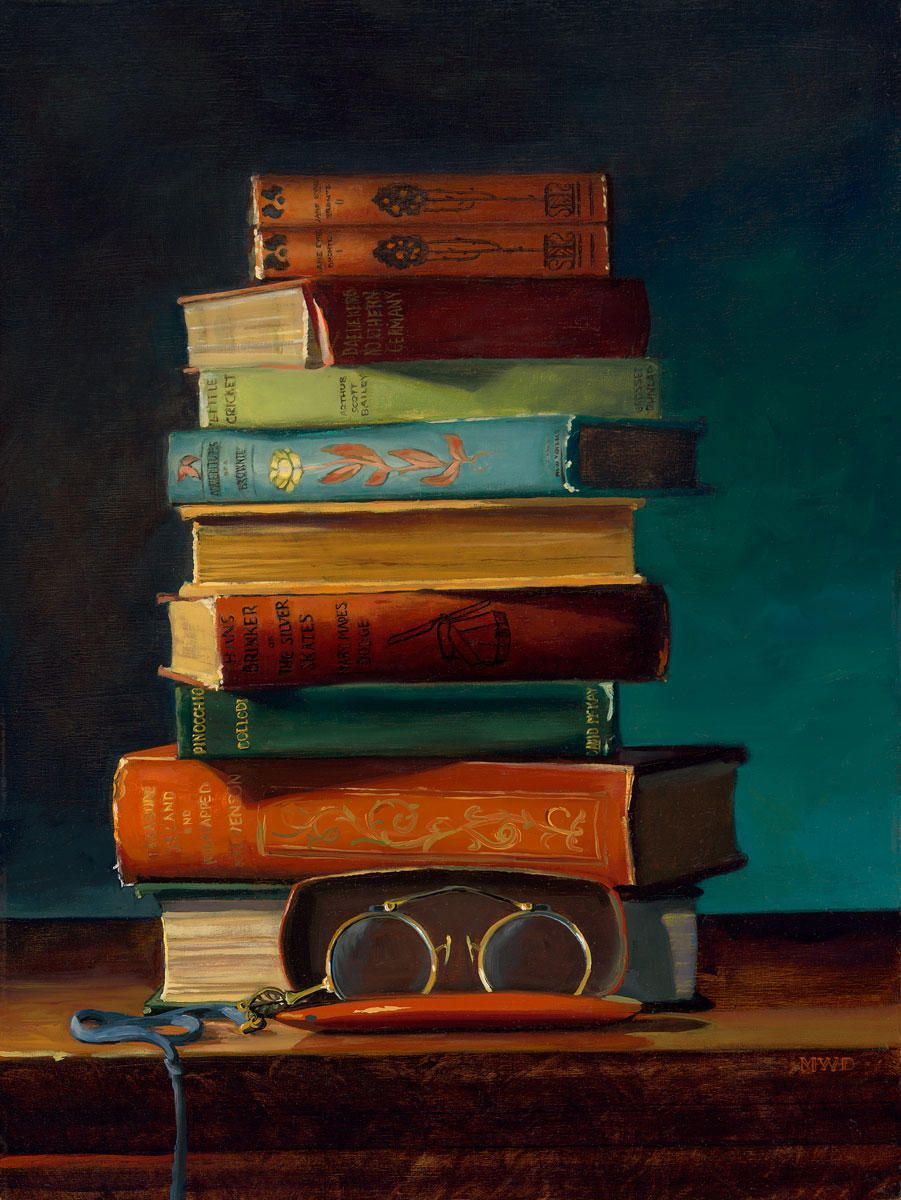 Stories with Toys: Michelle Waldele, fine art oil painter of representational, classical realism and vintage whimsy