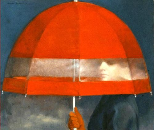 Colleen Browning —Red Umbrella, 1972.