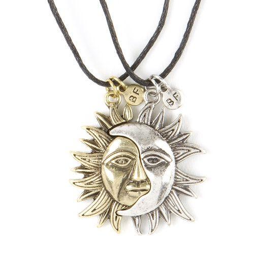 collier lune claire's