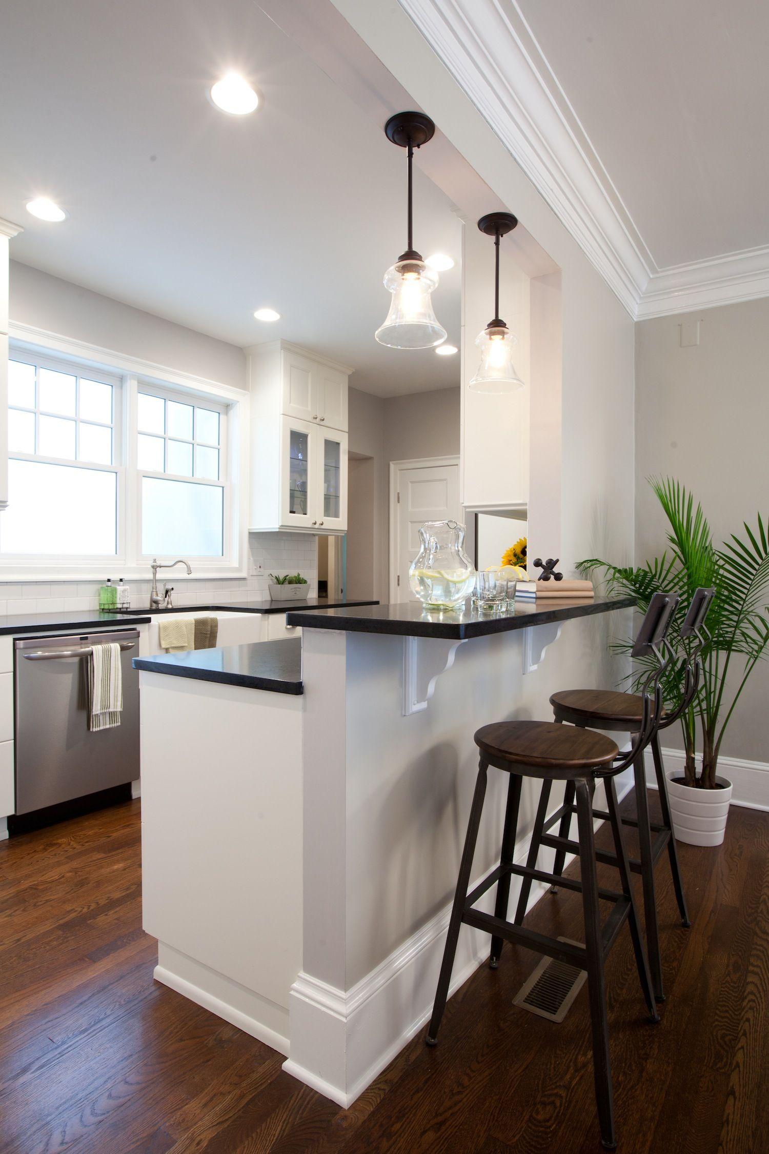 Open Kitchen Breakfast Counter Designs
