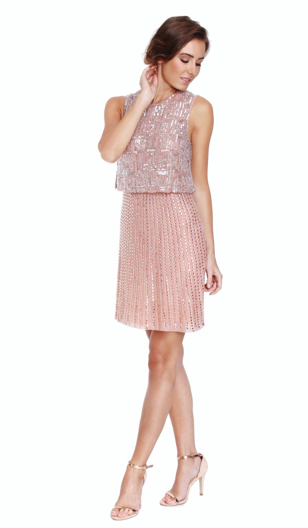 Rachel gilbert pink embellished mini dress chic by choice hire rachel gilbert pink embellished mini dress chic by choice hire designer dresses and evening ombrellifo Choice Image