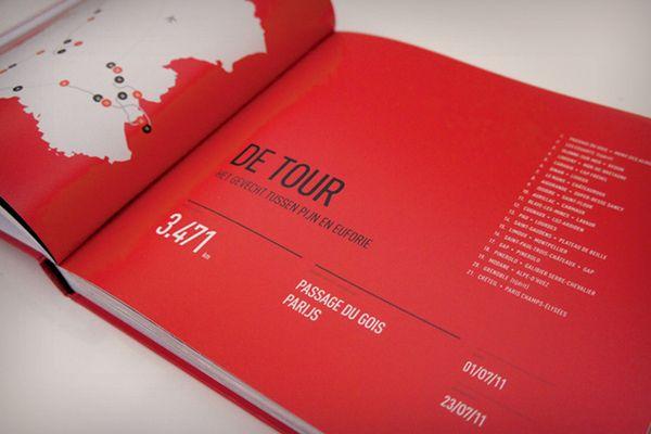 Kleine man, grote Tour by Tim Bisschop, via Behance