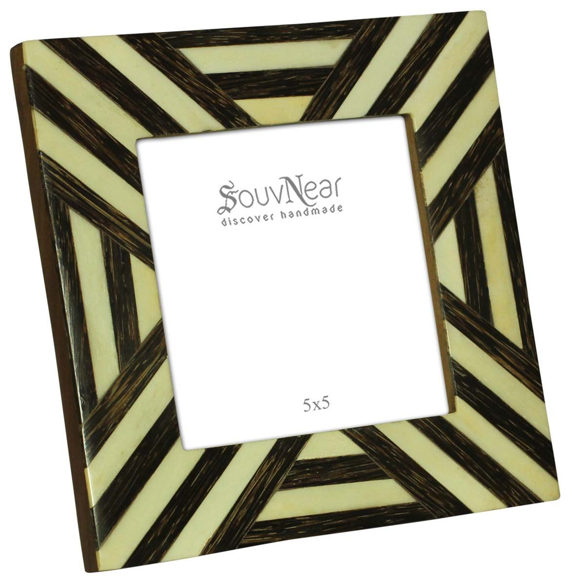 Bulk Buy Black & White 5x5 Inches Picture Frame - Wholesale Handmade ...