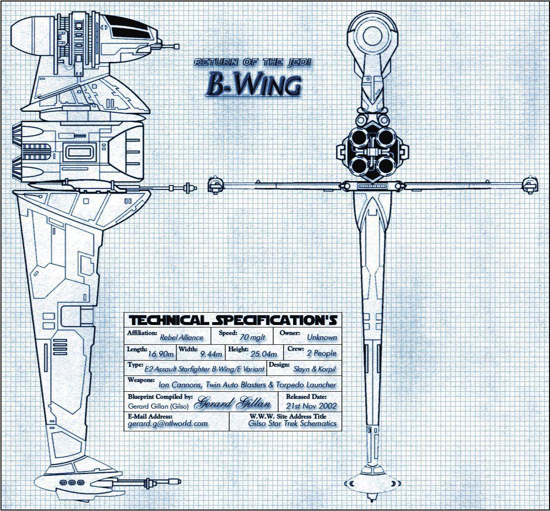 Wars Fighter Star Schematics X Wing Gilsostartrek - Information Of ...