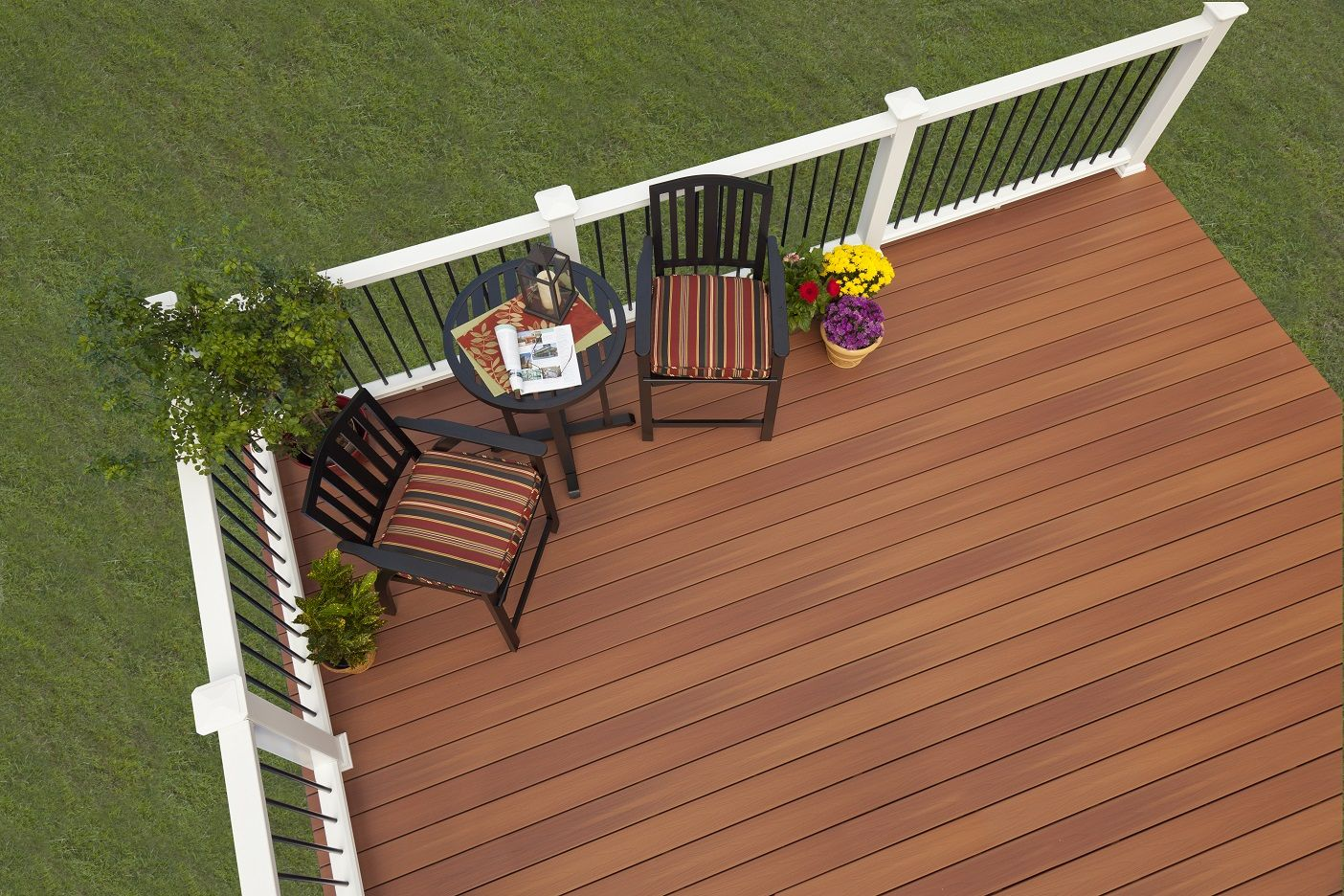 Slip Resistant Deck Stair Composite Deck Around The Swimming Pool Canada Building A Floa Building A Floating Deck Outdoor Space Design Beautiful Outdoor Spaces