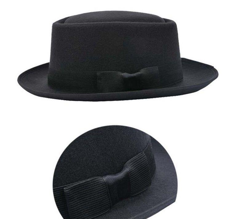 Breaking Bad Bb Hat Walter Heisenberg Men Black Hat Pork Pie Classical Cap  Gift 56067f8f3d7