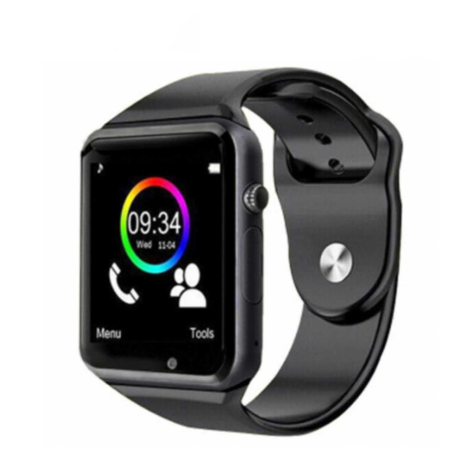 2019 New Style A1 Bluetooth Smart Watch Hd Screen Support Sim Card Wearable Devices Smartwatch For Apple Android Pk Dz09 Gt08 Watch Watches Men's Watches