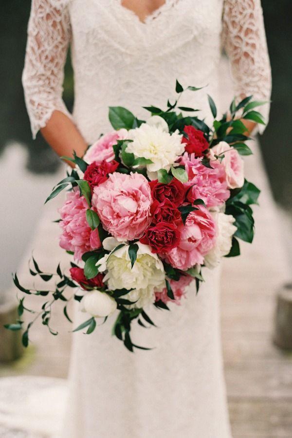 large beautiful, and pink! bouquet shape | photography by Adam Barnes via @Karen Jacot Jacot Jacot Darling Me Pretty