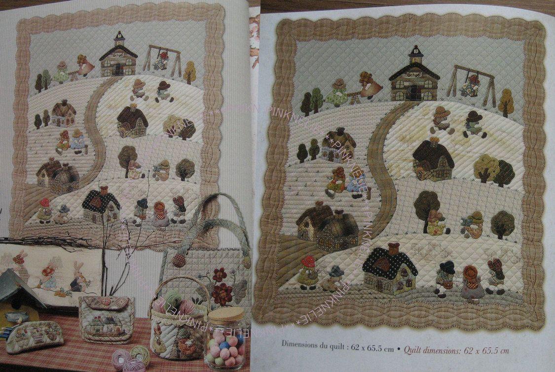 Reiko kato my dream quilts patchwork english french craft - Reiko kato patchwork ...