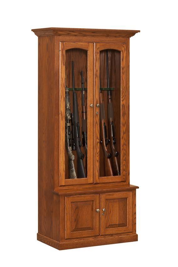 American Blue Ridge Gun Cabinet | Woods and House