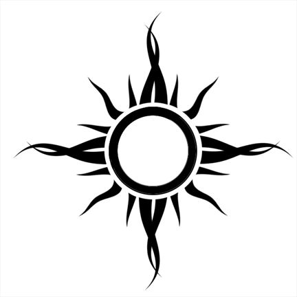 Godsmack Tribal Sun Meaning Tribal Tattoos Sun Tattoo Tribal Sun Tattoo