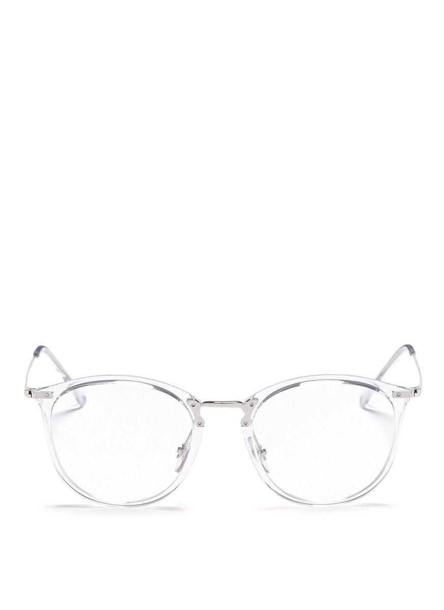 92ab1599e2 RAY BAN  RB7140  acetate front metal Wayfarer optical glasses.  rayban