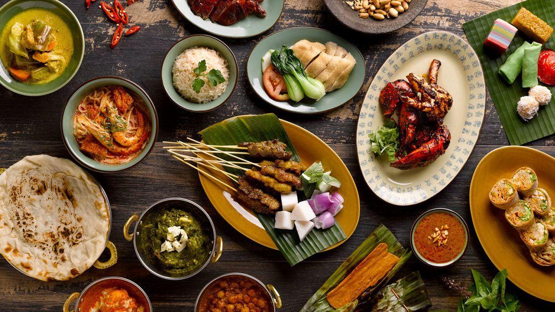Straitskitchen Halal Kitchen Grand Hyatt Singapore Straitskitchen Halal Kitchen Grand Hyatt Singa In 2020 Halal Recipes Food Market Healthy Food Options