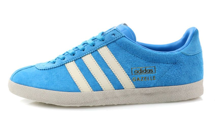 Adidas originali gazzella og: solar blue scarpe r / t pinterest