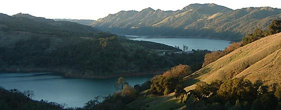 Lake Sonoma - Warm Springs Recreation Area  West of Cloverdale CA