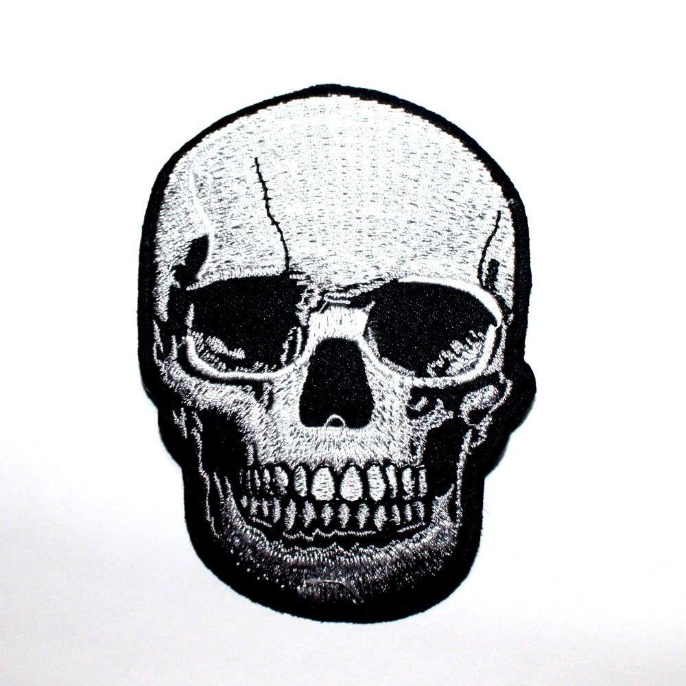 Funny Hand Sign Symbol Zombie Love Peace Rocker Punk Biker Jacket Iron on Patch