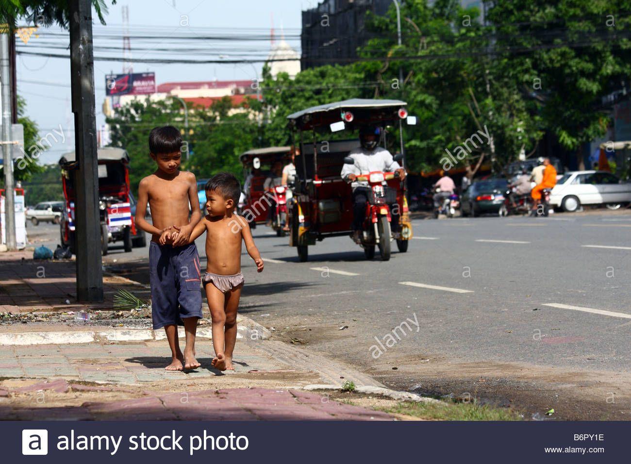 Naked cambodian kids