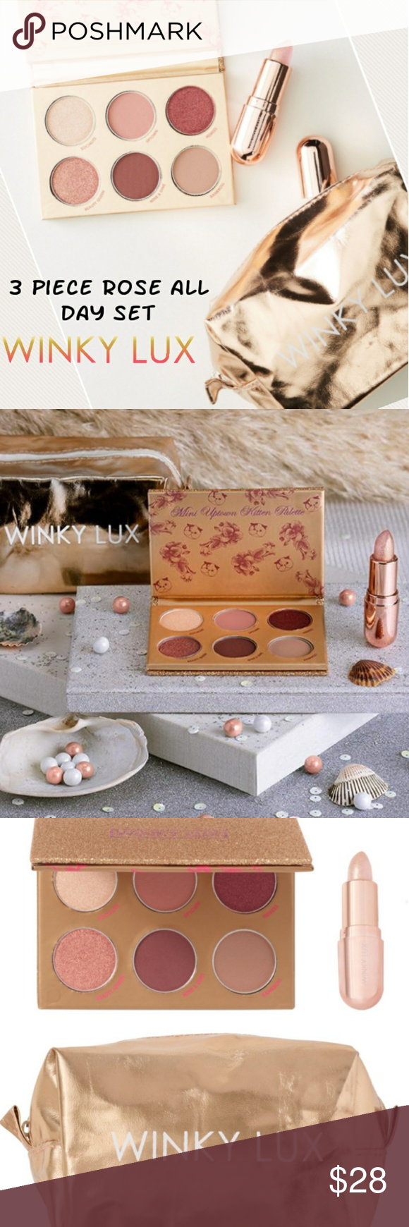 3 Pc Winky Lux Rose All Day Kit Winky Lux Things To Sell Shade Roses