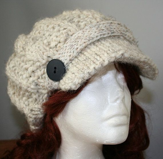This listing is for a knitting PATTERN, not the finished hat ...