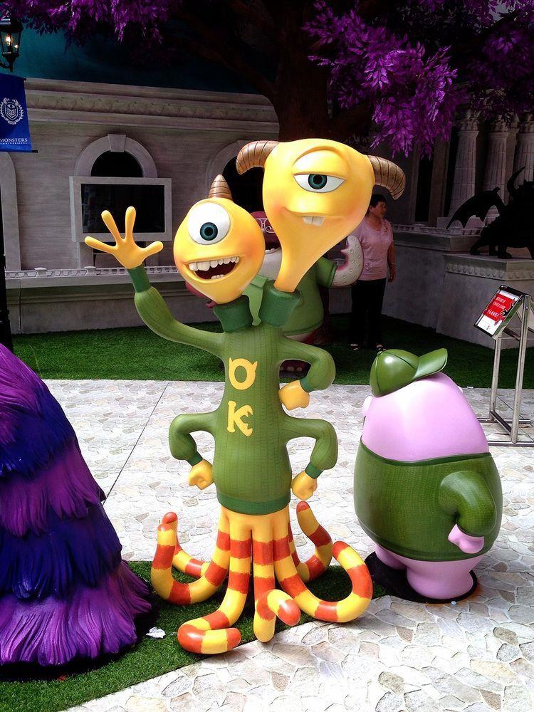 Zeichentrickfilm mit Monstern