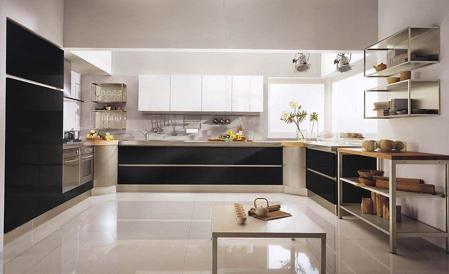 Black And White Sensational Kitchens BECOUZ KItchen Pinterest