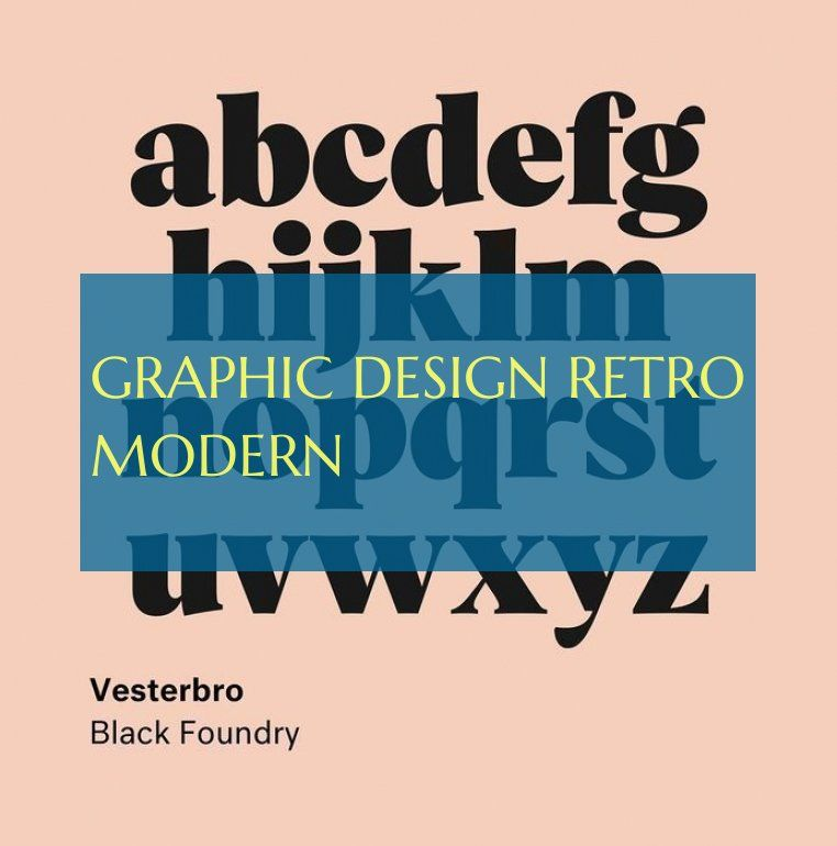 Graphic Design Retro Modern Grafikdesign Retro Modern