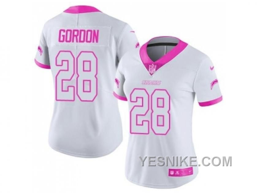 ... Buy Womens Nike Green Bay Packers Damarious Randall White Pink Stitched  NFL Limited Rush Fashion Jersey ... 7109d05bc