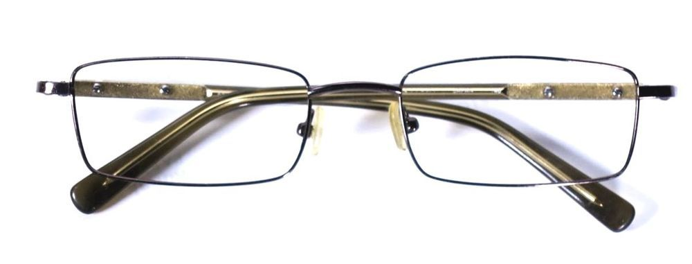 9e593ce06fa9 KITAMI K5201 METAL RECTANGULAR EYEGLASS FRAMES EYEGLASSES GLASSES MADE IN  JAPAN  Kitami
