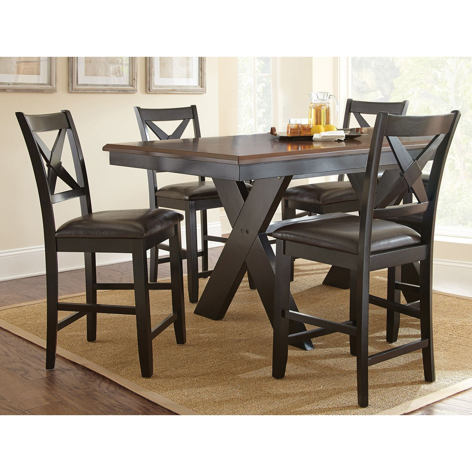 Victor Counter Height 5 Piece Dining Set Sam S Club Counter