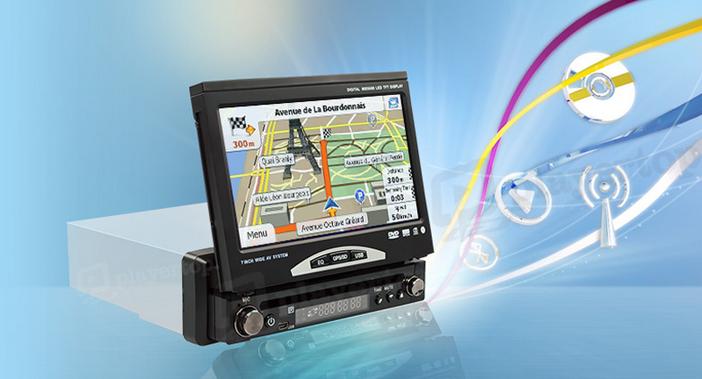 Autoradio GPS Android pas cher, Caméra radar de recul - Player Top