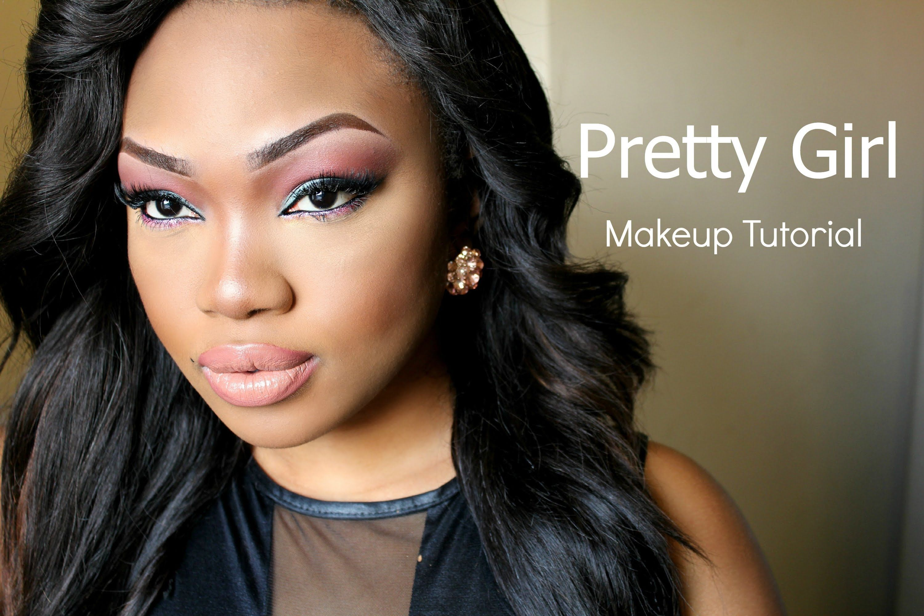 Pretty Girl Makeup Tutorial (With images) Girls makeup