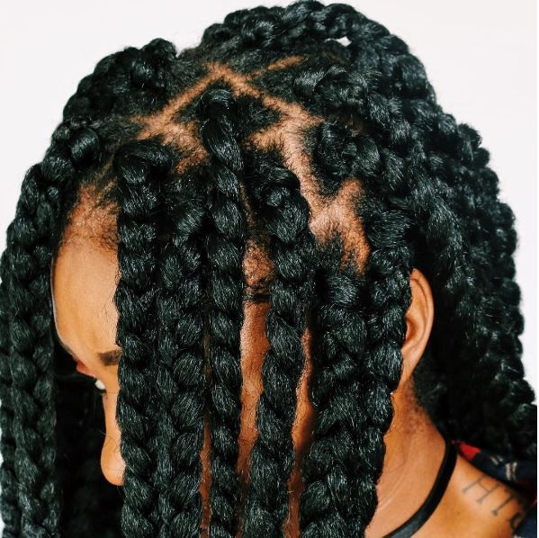 Individual Crochet Box Braids With No Cornrows In 2 3 Hrs Box
