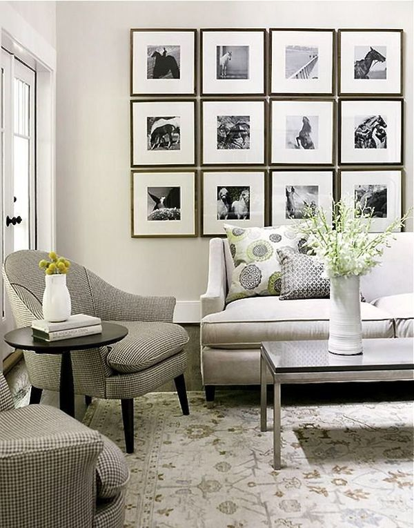 51 Inspiring Small Living Rooms Using All Available Space Gallery Wall Living Room Wall Decor Living Room White Living Room