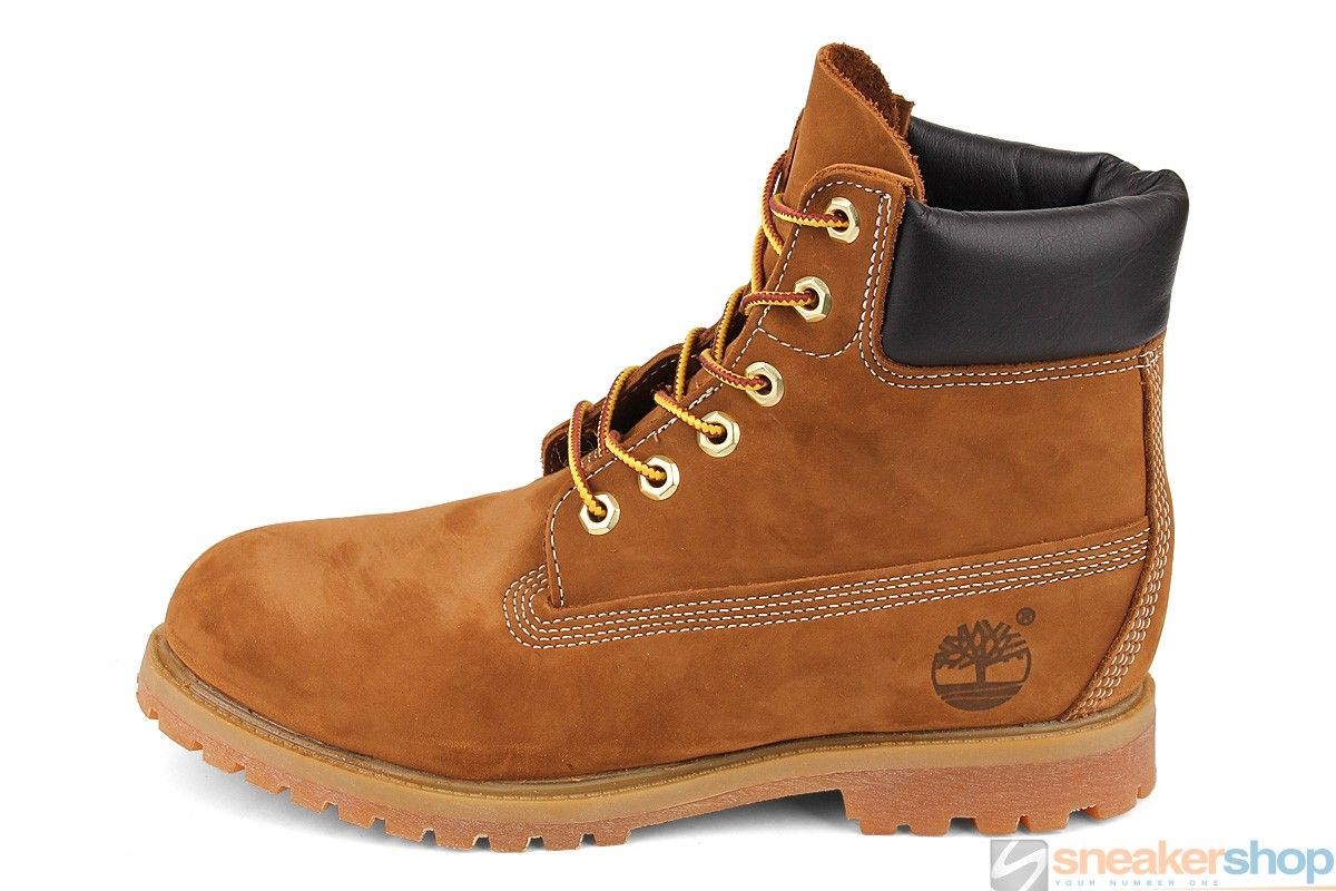 Timberland Women's 6-Inch Premium Waterproof Boot (Rust Brown) | 10360