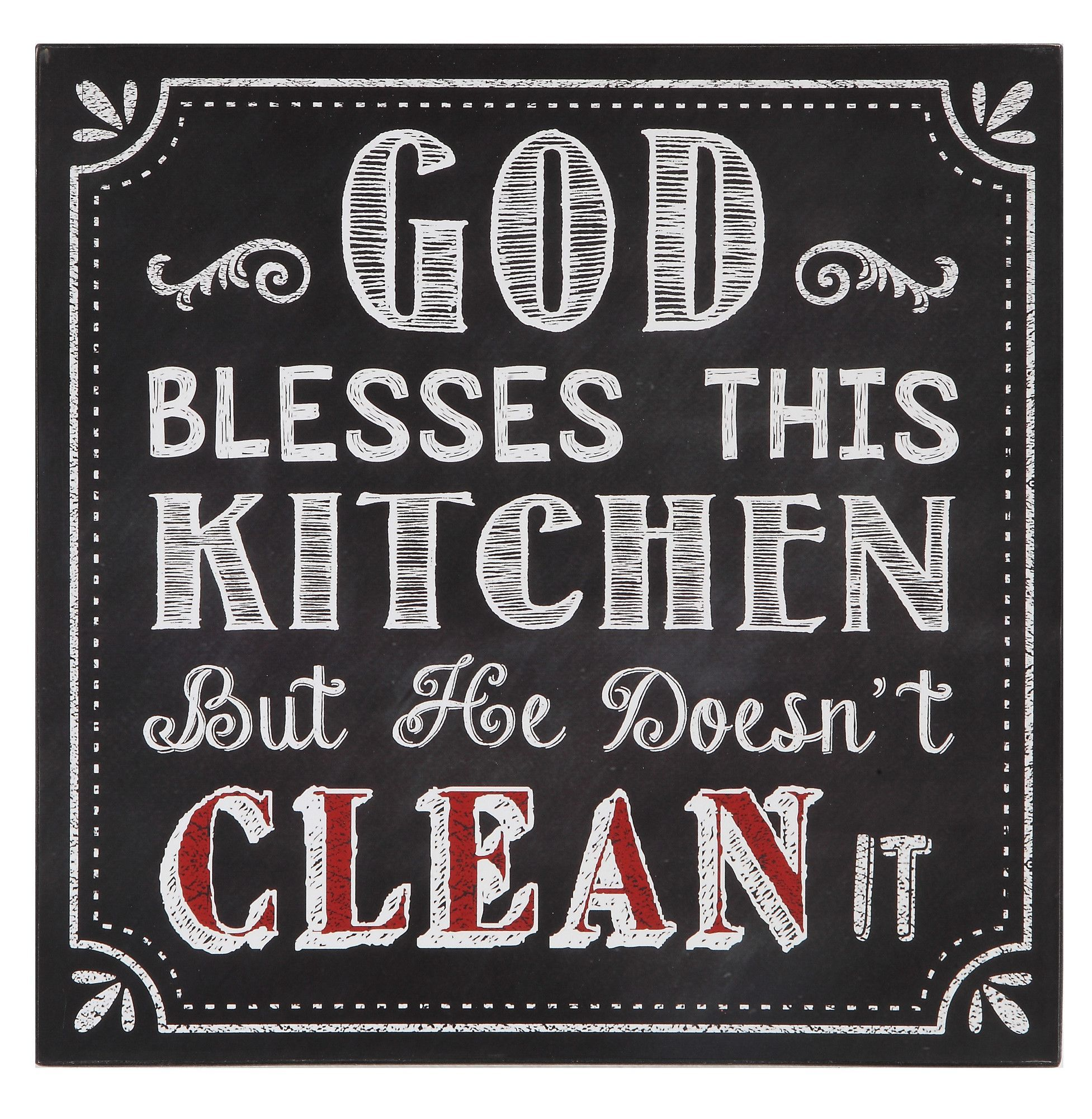 Urban homestead god blesses this kitchen wall décor products