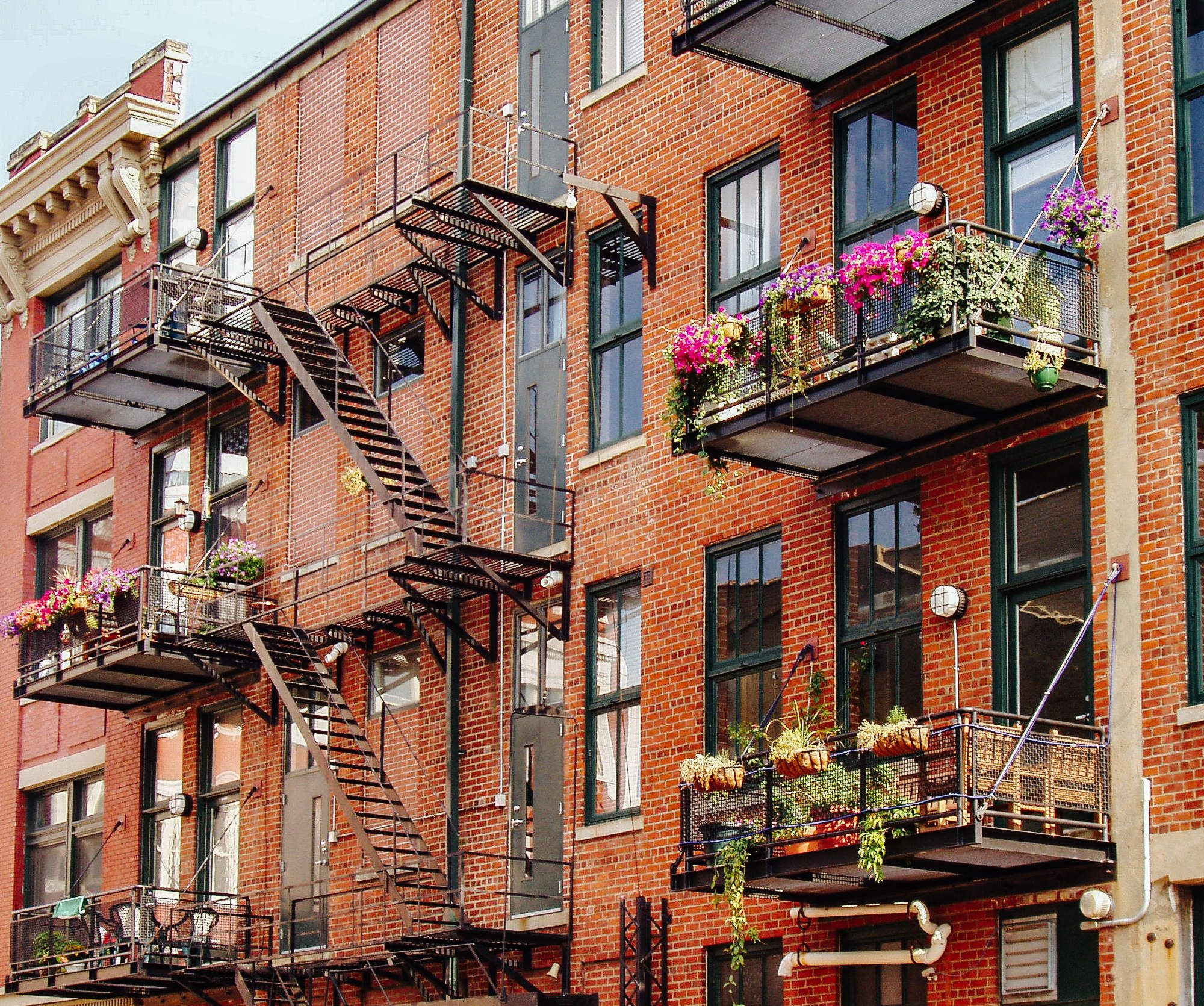 Fireplace Best Brooklyn Apartment Rentals Ideas On Fire Turn Your Pathetic Fire Escape Into An Awesome Balcony
