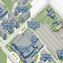 Map Of Uk Campus.University Of Kentucky Official Campus Map College Uk