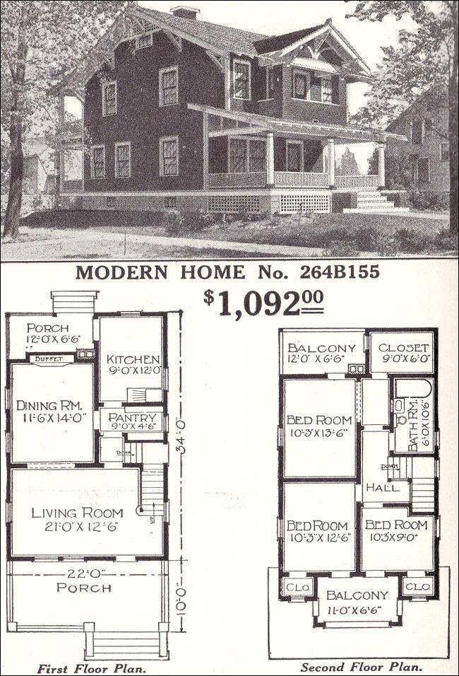 """A 1934 House from the Sears & Roebuck Christmas Catalog"