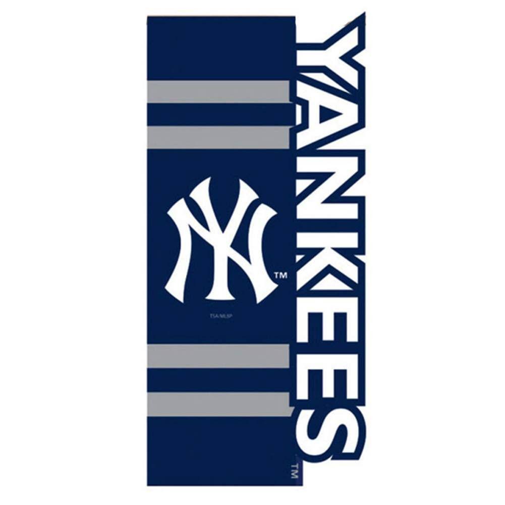 New York Yankee Sculpted Appliqued House Flag Logo Garden Yankees