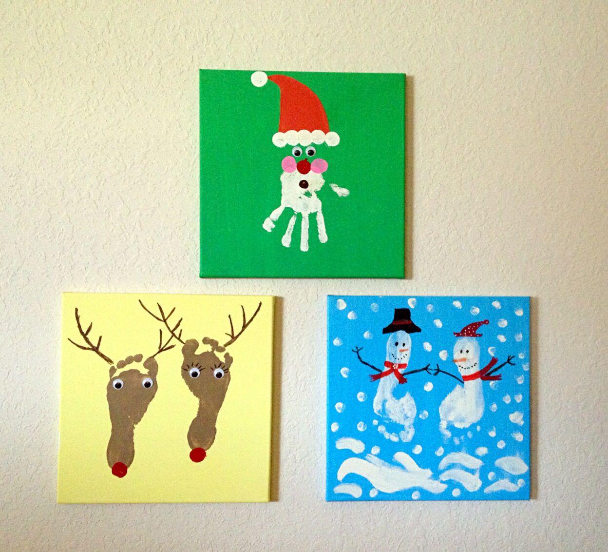 kid 39 s crafts for christmas krea inspiration pinterest julepynt b rnehave og hjemmelavet. Black Bedroom Furniture Sets. Home Design Ideas
