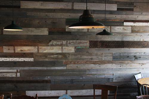 Repurposed Wood Amp Industrial Lights Uh Yes Please