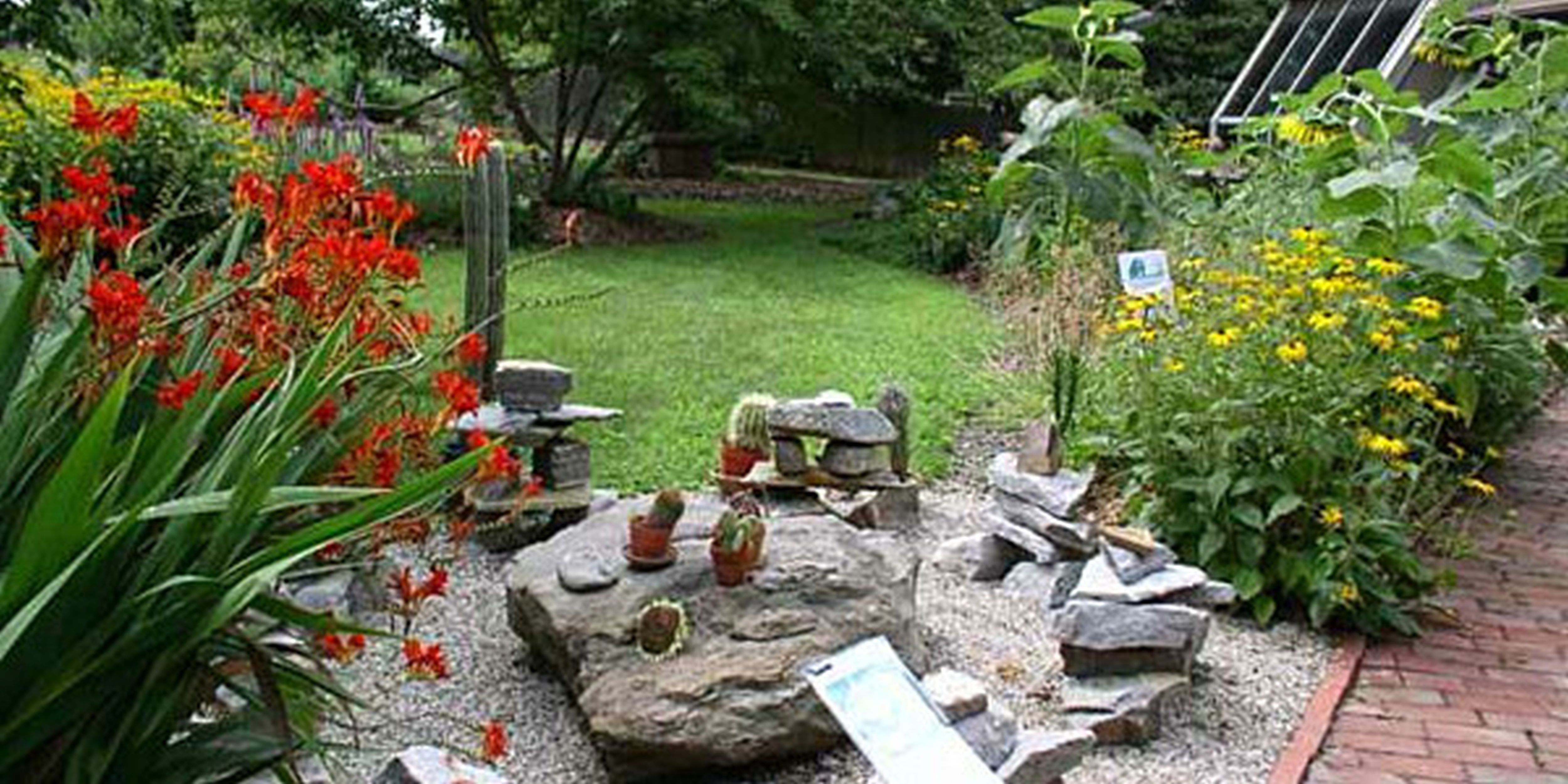 Interesting Garden Design Rockery Beautiful Rock Ideas On Decorating