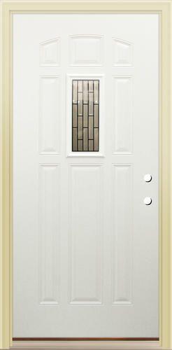 Mastercraft Kathryn 32 X 80 Primed Steel 9 Panel Exterior Door Lh At Menards Home Sweet Home Exterior Doors Tall Cabinet Storage Home