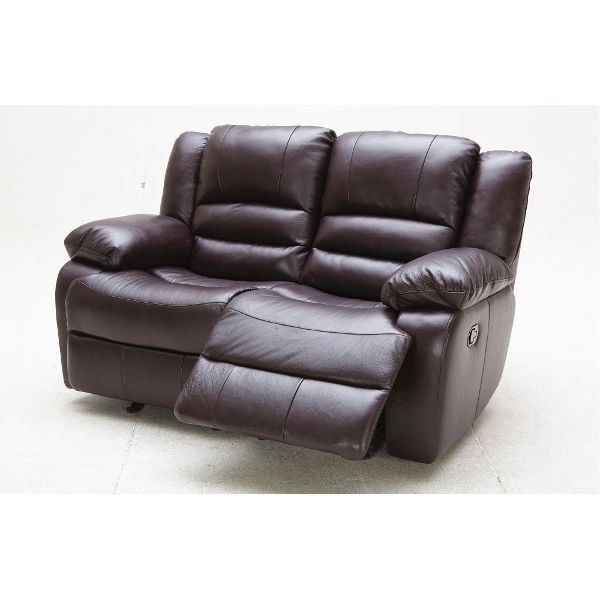 Magnificent Expresso Dual Glider Reclining Leather Loveseat K Motion Gmtry Best Dining Table And Chair Ideas Images Gmtryco