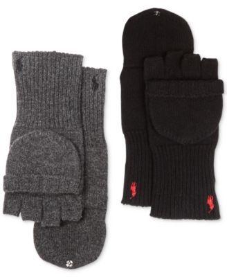 Polo Ralph Lauren Merino Wool Convertible Gloves - Hats, Gloves & Scarves -  Men -